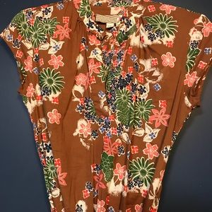 Lost brand floral midi dress. Size 5/6